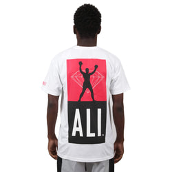 CAMISETA DIAMOND X MUHAMMAD ALI FIGHT SHORT BRANCO