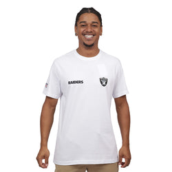 CAMISETA NEW ERA NFL OAKLAND RAIDERS BRANCO