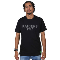 CAMISETA NEW ERA NFL OAKLAND RAIDERS MONOTONE PRETO