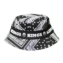 CHAPÉU BUCKET HAT KINGS SNEAKERS ARABESCOS PRETO