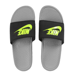 CHINELO NIKE BENASSI JUST DO IT CINZA