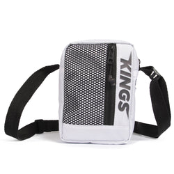 SHOULDER BAG KINGS SNEAKERS PRINT BRANCO
