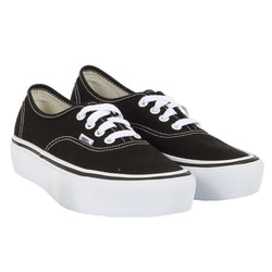 TÊNIS VANS AUTHENTIC PLATAFORMA PRETO