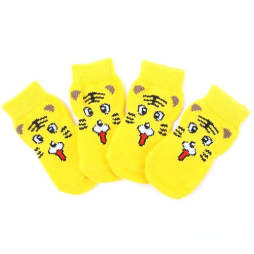 Cartoon Tiger Cotton Socks