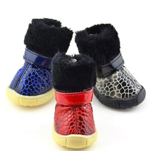 Snakeskin Waterproof Fashionable Shoes