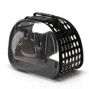 Transparent Folding Cat Carrier