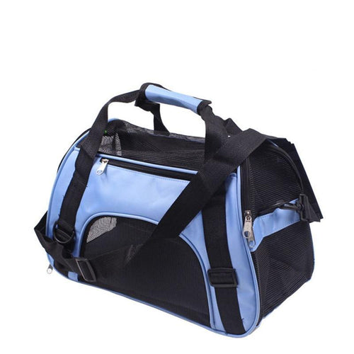 Meshed Large Messenger Cat Carrier