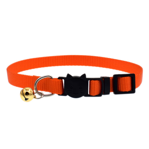 Adjustable Nylon Collar With Bell