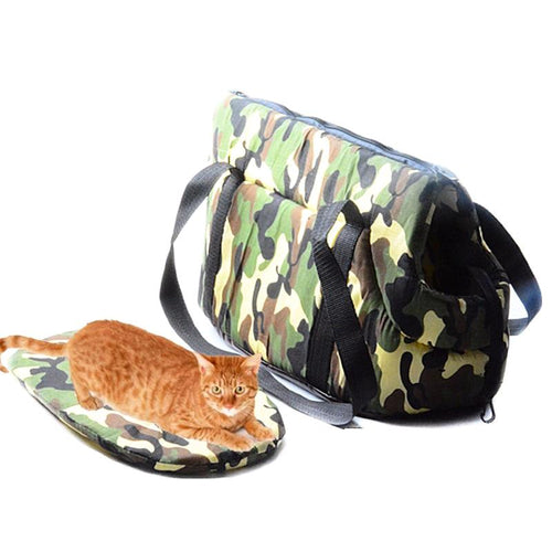 Camouflage Design Shoulder Bag Carrier