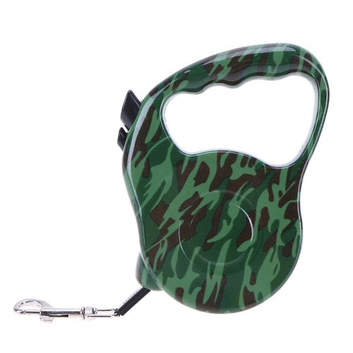 5m Camouflage Automatic Retractable Cat Lead