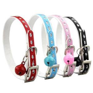 Reflective Collar With Bell