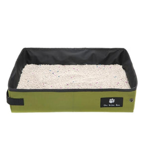 Folding Waterproof Cat Litter Box