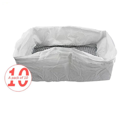 10 Piece Litter Tray Liners