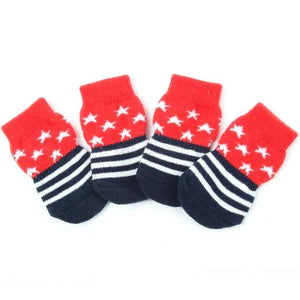Star Striped Ultra Soft Socks