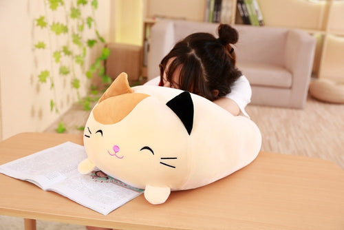 Squishy Fat Cat Plush Toy
