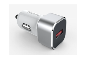 1*USB car charger color: sliver
