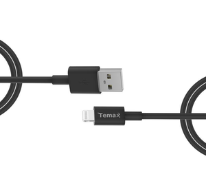 2M Black TPU MFi Cable for lightning