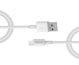 2M White MFi cable for lightning