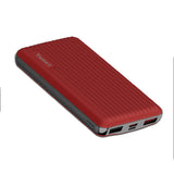 Temax Power Bank, Fast charging 20000 mAh Portable [QC 3.0] - Red