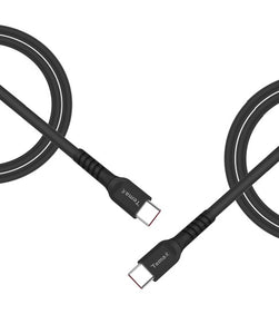 USB-C to USB-C ( TPU ) Length 2M - Black