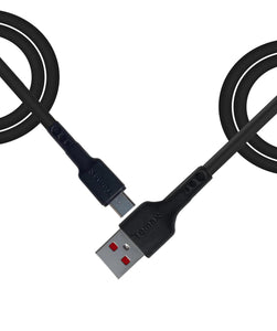 USB to Micro black 2m cable
