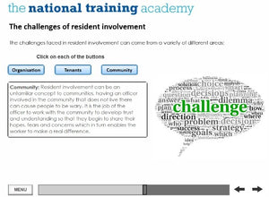 Engagement and Participation Online Training screen shot 4