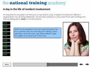 An Introduction to Resident Involvement Online Training screen shot 6