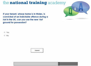 Anti-Social Behaviour - Ground for Possession Online Training - screen shot 7