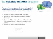 Load image into Gallery viewer, Arrears Prevention: Pre-Tenancy Positive Practice Practice (Wales) Online Training screen shot 8