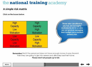 Arrears Prevention: Pre-Tenancy Positive Practice Online Training - screen shot 5