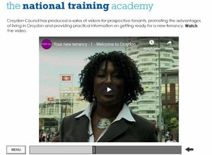 Arrears Prevention: Pre-Tenancy Positive Practice Online Training - screen shot 4