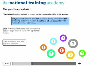 Arrears Prevention: Pre-Tenancy Positive Practice Online Training - screen shot 3