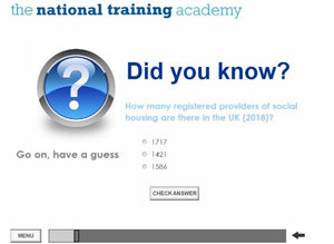 Assured Shorthold Tenancies Online Training - screen shot 2