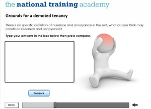 Assured Shorthold Tenancies Online Training - screen shot 3