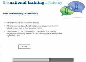 Assured Shorthold Tenancies Online Training - screen shot 6