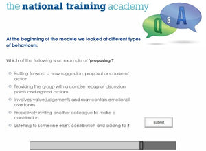 Chairperson Skills in an Organisation Online Training screen shot 8