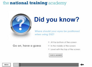 DSE Awareness Online Training - screen shot 2