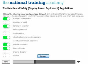 DSE Awareness Online Training - screen shot 3
