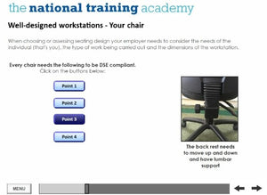 DSE Awareness Online Training - screen shot 6