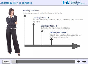 dementia awareness training screen shot 1