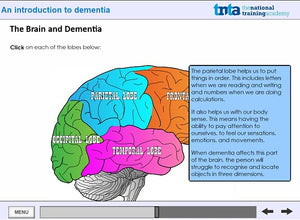 dementia awareness training screen shot 2