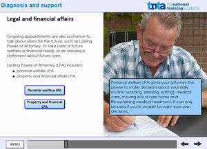 dementia awareness training screen shot 7