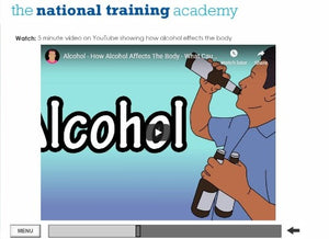 Drug and Alcohol Awareness Online Training - screen shot 4