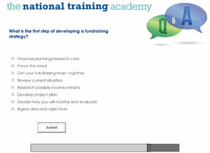 Effective Fundraising Online Training screen shot 8