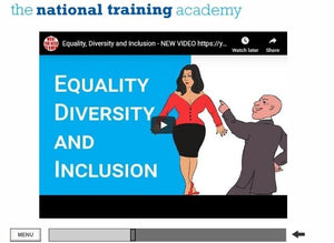Equality and Diversity Online Training - screen shot 3