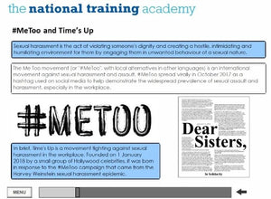 Equality and Diversity Online Training - screen shot 6
