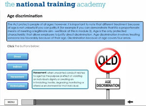 Equality and Diversity Online Training - screen shot 7