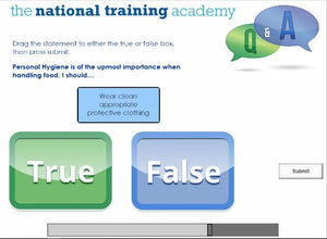Food Safety and Hygiene in Catering (Level 2) Online Training screen shot 10