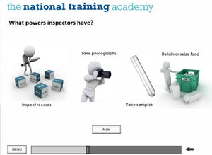 Food Safety and Hygiene in Catering (Level 2) Online Training screen shot 3
