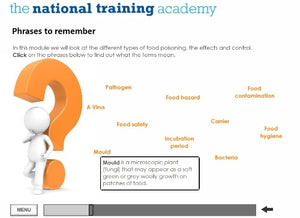 Food Safety and Hygiene in Catering (Level 2) Online Training screen shot 5
